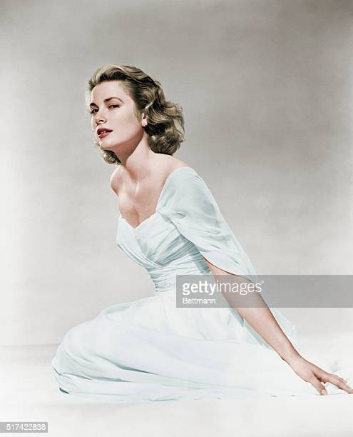 Grace Kelly in Evening Gown