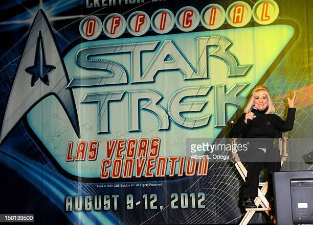 Actress Grace Lee Whitney participates in the 11th Annual Official Star Trek Convention Day 2 on Friday August 10 2012 in Las Vegas Nevada