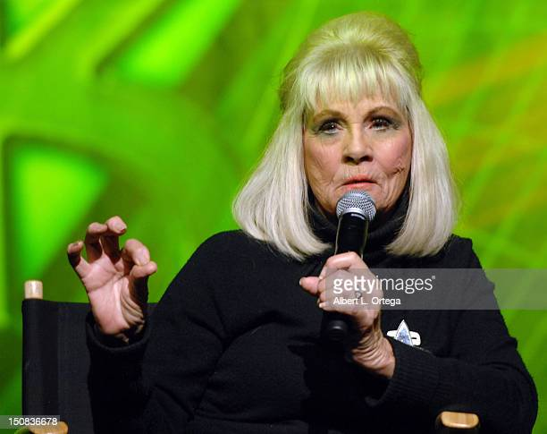 Actress Grace Lee Whitney participates in the 11th Annual Official Star Trek Convention day 2 held at the Rio Hotel Casino on August 10 2012 in Las...