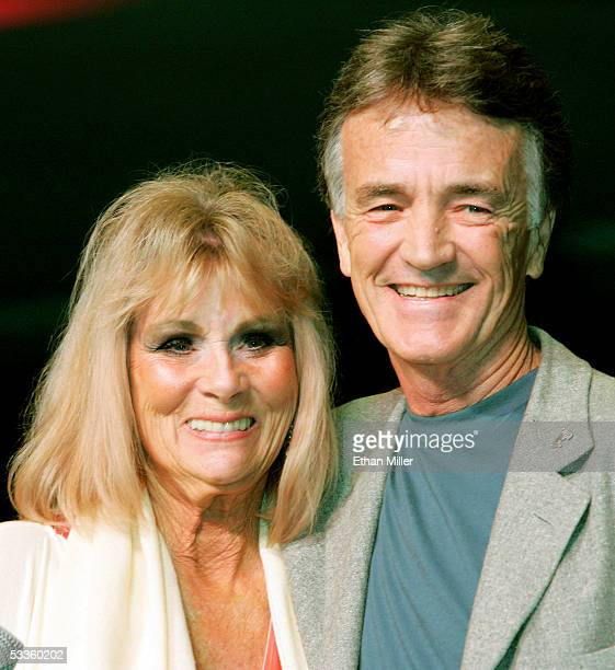Actress Grace Lee Whitney who played Janice Rand in the original Star Trek television series and films and actor Robert Walker Jr who played the...