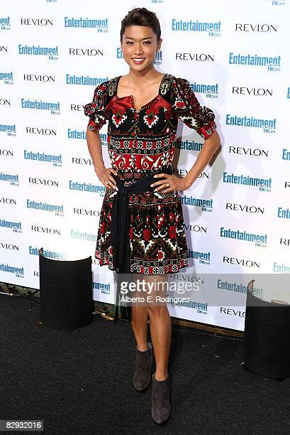 Actress Grace Park arrives at the Entertainment Weekly's 6th annual preEmmy celebration held at the historic Beverly Hills Post Office on September...