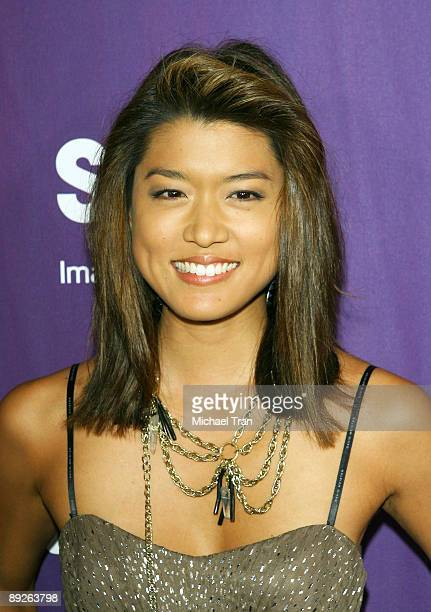 Actress Grace Park arrives at the EW and Syfy Comic-Con party held at the Hotel Solamar July 25, 2009 in San Diego, California.