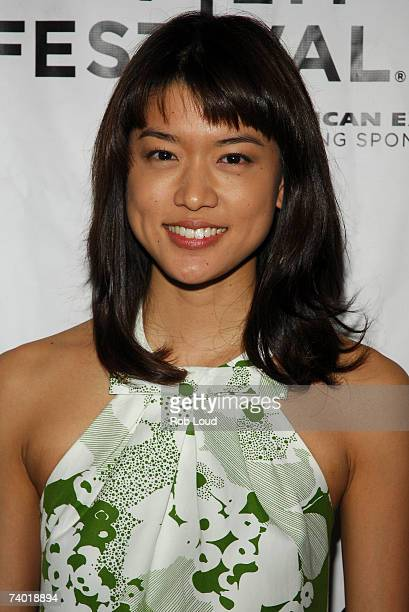 Actress Grace Park arrives at the premiere of West 32nd at the 2007 Tribeca Film Festival on April 28 2007 in New York City