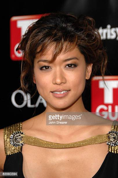 Actress Grace Park arrives at TV Guide's sixth annual Emmy after party at The Kress on September 21 2008 in Hollywood California