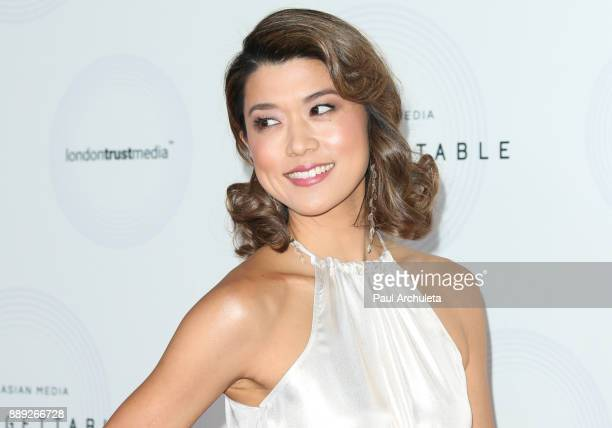 Actress Grace Park attends the 16th annual Unforgettable Gala at The Beverly Hilton Hotel on December 9, 2017 in Beverly Hills, California.