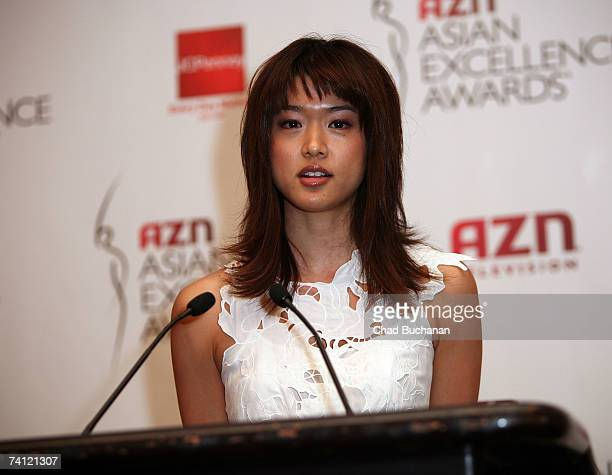 Actress Grace Park attends the 2007 AZN Asian Excellence Awards nominations at Le Meridien May 10, 2007 in Los Angeles, California.