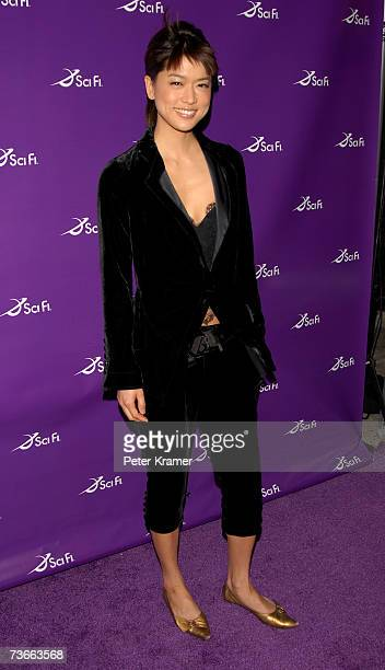 Actress Grace Park attends the 2007 Sci Fi channel upfront party at STK on March 21, 2007 in New York City.