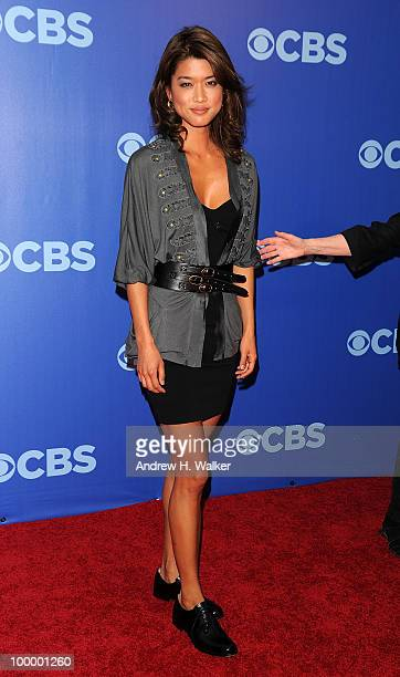 Actress Grace Park attends the 2010 CBS UpFront at Damrosch Park, Lincoln Center on May 19, 2010 in New York City.