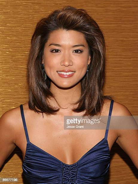 Actress Grace Park attends the 25th Annual Television Critics Association Awards Cocktail Reception at The Langham Resort on August 1 2009 in...