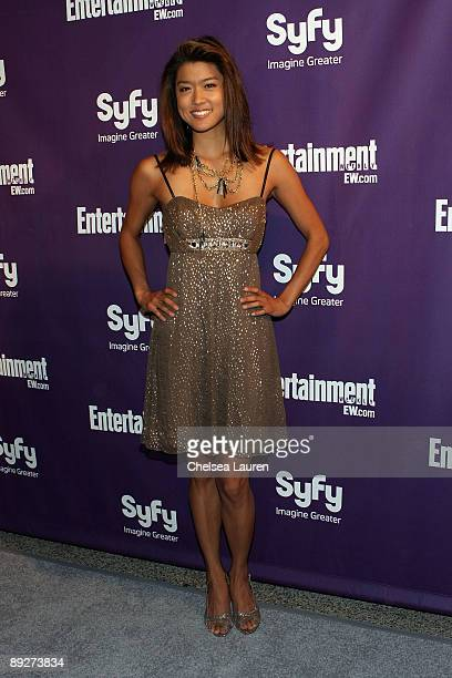 Actress Grace Park attends the Entertainment Weekly and Syfy party celebrating ComicCon at Hotel Solamar on July 25 2009 in San Diego California