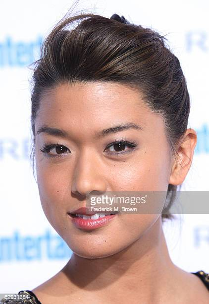 Actress Grace Park attends the Entertainment Weekly's Sixth Annual PreEmmy Celebration party honoring the 2008 Emmy nominees at The Beverly Hills...