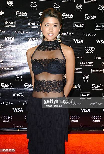 Actress Grace Park attends the Solitary Man after party during the 2009 Toronto International Film Festival on September 12 2009 in Toronto Canada