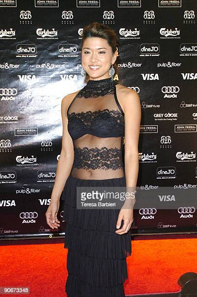 "Actress Grace Park attends the ""Solitary Man"" after party during the 2009 Toronto International Film Festival on September 12, 2009 in Toronto,..."