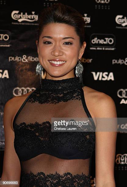 Actress Grace Park attends the 'Solitary Man' Party Hosted By Greenhouse held at Brant House during the 2009 Toronto International Film Festival on...