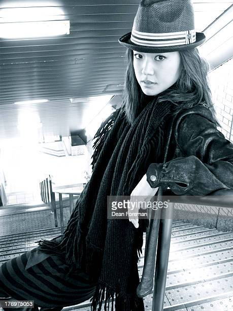 Actress Grace Park is photographed for KoreAM Magazine on February 1 2010 in Tokyo Japan