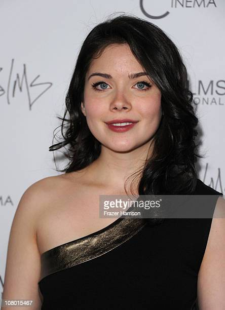 Actress Grace Phipps arrives at the premiere of New Films Cinemas Burning Palms at the Arclight Hollywood on January 12 2011 in Los Angeles California