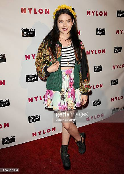Actress Grace Phipps attends Nylon Magazine's Young Hollywood issue event at The Roosevelt Hotel on May 14 2013 in Hollywood California