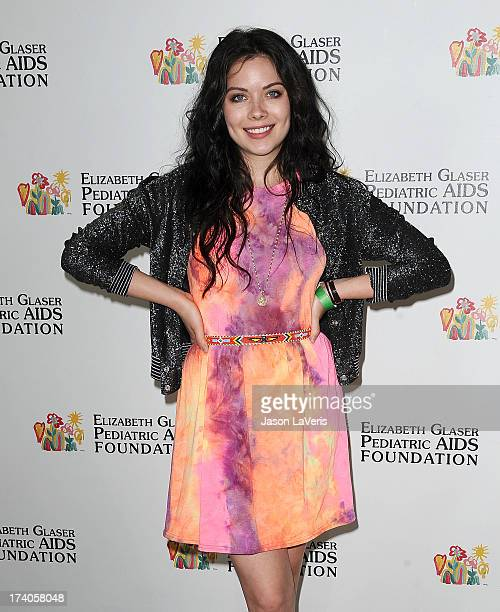 Actress Grace Phipps attends the Elizabeth Glaser Pediatric AIDS Foundation's 24th annual A Time For Heroes at Century Park on June 2 2013 in Los...