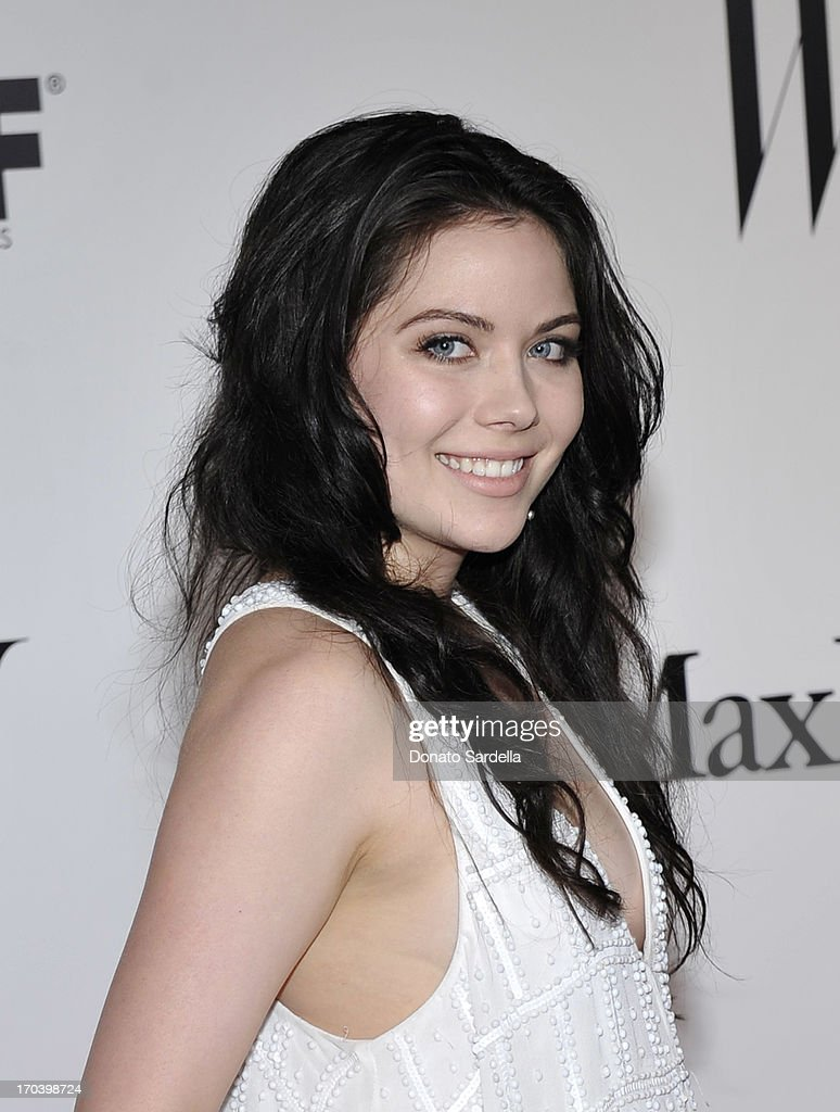 Actress Grace Phipps attends the Max Mara and W Magazine cocktail party to honor the Women In Film Max Mara Face of the Future Awards recipient Hailee Steinfeld at Beverly Hills Hotel on June 11, 2013 in Beverly Hills, California.