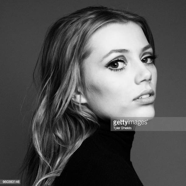 Actress Grace Van Dien poses for a portrait on February 11 2018 in Los Angeles California