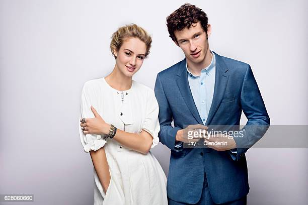 Actress Grace Van Patten and actor Callum Turner from the film Tramps pose for a portrait at the Toronto International Film Festival for Los Angeles...