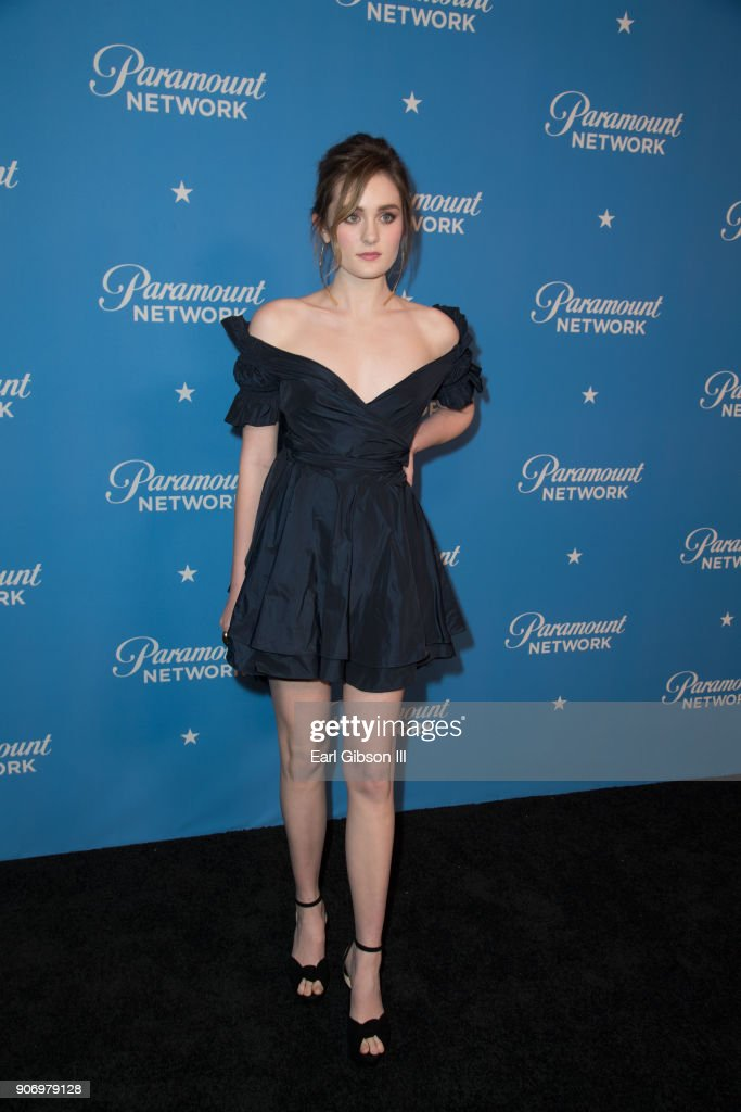 Actress Grace Victoria Cox attends Paramount Network Launch Party at Sunset Tower on January 18, 2018 in Los Angeles, California.