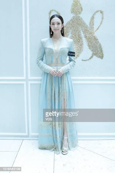 Actress Grace Wong Kwan-hing attends Guerlain event at a ...