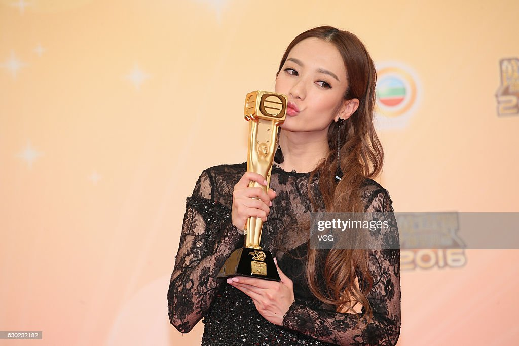 Actress Grace Wong Kwan-hing attends the 2016 TVB ...