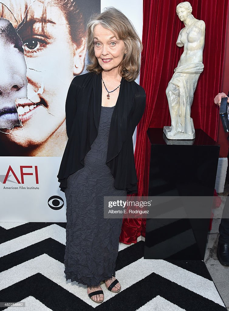 Actress Grace Zabriskie arrives to The American Film Institute Presents 'Twin Peaks-The Entire Mystery' Blu-Ray/DVD Release Screening at the Vista Theatre on July 16, 2014 in Los Angeles, California.