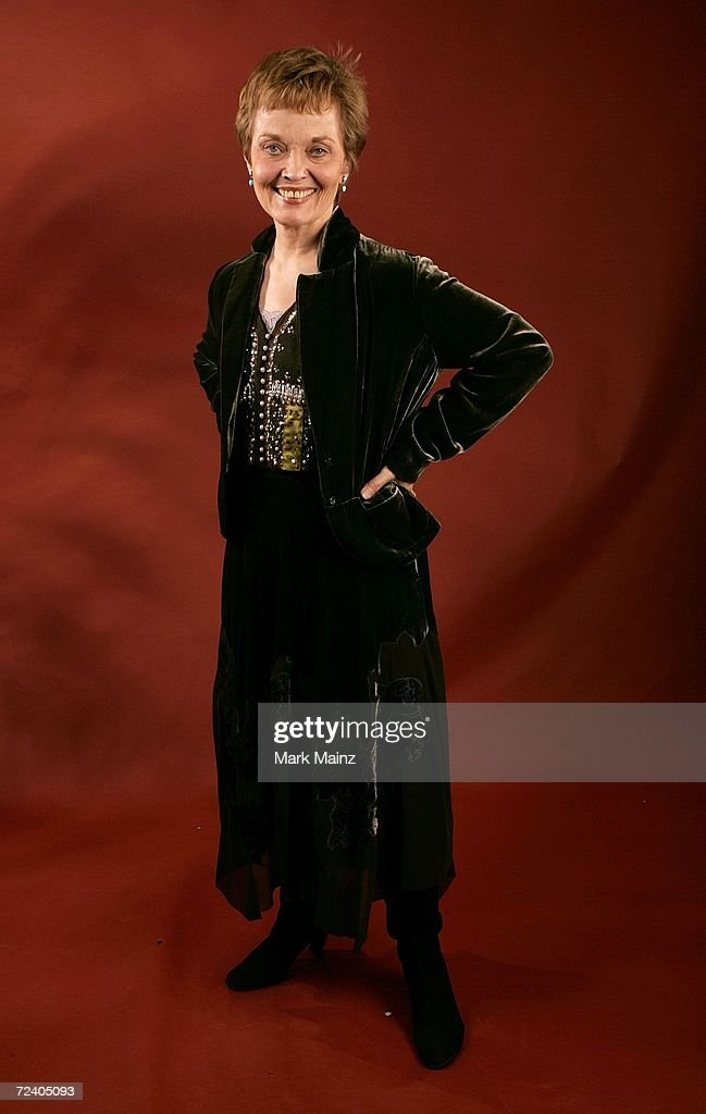 Actress Grace Zabriskie of the film 'Inland Empire' poses in the portrait studio at the 2006 AFI FEST presented by Audi at the Arclight Hollywood November 3, 2006 in Hollywood, California.