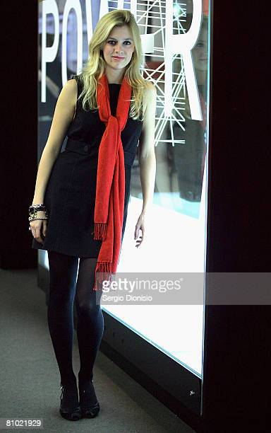 Actress Gracie Otto poses during the program launch for the Sydney Film Festival at Customs House on May 8, 2008 in Sydney, Australia.