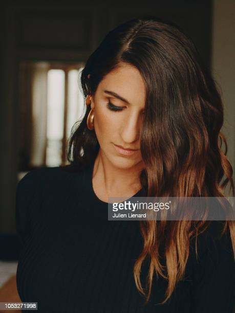 Actress Géraldine Nakache is photographed for Self Assignment on June 2018 in Cabourg France