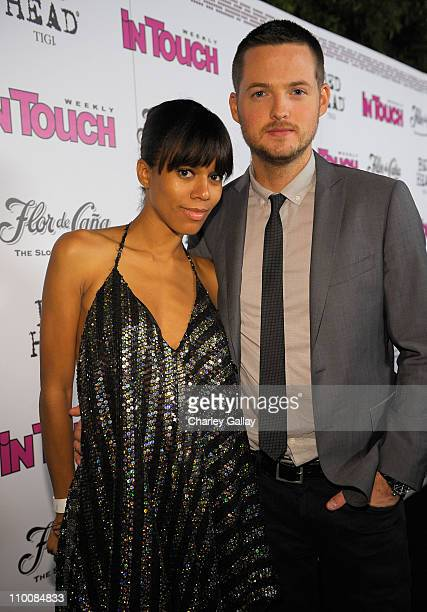 Actress Grasie Mercedes and guest arrive at In Touch Weekly's ICONS IDOLS CELEBRATION Good Charlotte Leona Lewis and The Veronicas performed Samantha...