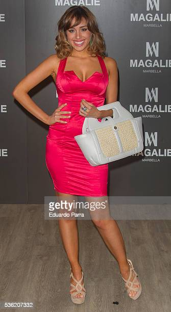 Actress Grecia Castta attends the ''Magalie 121' Bag presentation at Las Alhajas palace on May 31 2016 in Madrid Spain