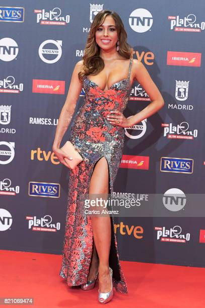 Actress Grecia Castta attends the Platino Awards 2017 photocall at the La Caja Magica on July 22 2017 in Madrid Spain