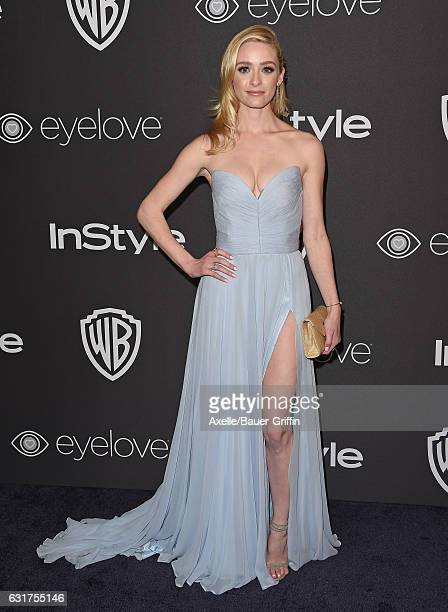 Actress Greer Grammer arrives at the 18th Annual PostGolden Globes Party hosted by Warner Bros Pictures and InStyle at The Beverly Hilton Hotel on...