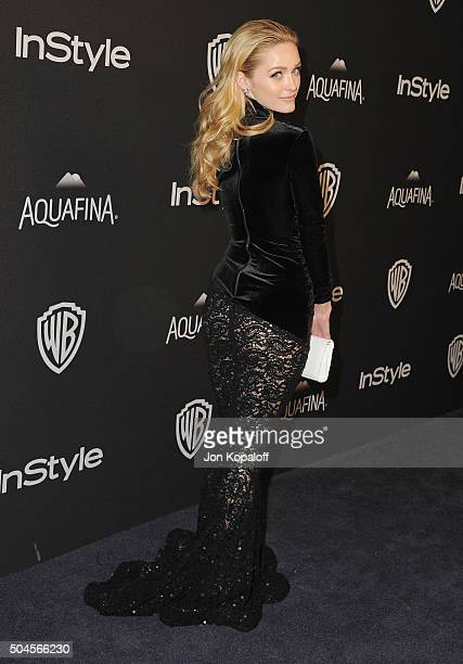 Actress Greer Grammer arrives at the 2016 InStyle And Warner Bros 73rd Annual Golden Globe Awards PostParty at The Beverly Hilton Hotel on January 10...