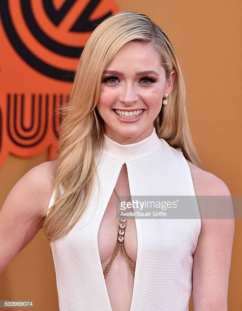 Actress Greer Grammer arrives at the premiere of Warner Bros Pictures' 'The Nice Guys' at TCL Chinese Theatre on May 10 2016 in Hollywood California