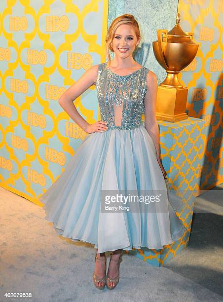 Actress Greer Grammer attends HBO's post Golden Globe Awards party at The Beverly Hilton Hotel on January 11 2015 in Beverly Hills California