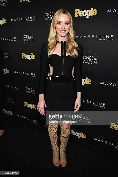 Actress Greer Grammer attends People's Ones to Watch event presented by Maybelline New York at EP LP on October 13 2016 in Hollywood California