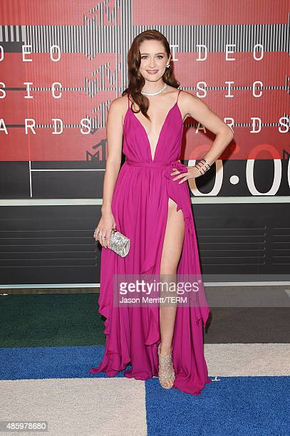 Actress Greer Grammer attends the 2015 MTV Video Music Awards at Microsoft Theater on August 30 2015 in Los Angeles California