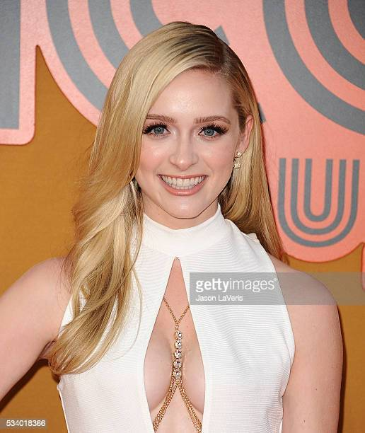 Actress Greer Grammer attends the premiere of 'The Nice Guys' at TCL Chinese Theatre on May 10 2016 in Hollywood California