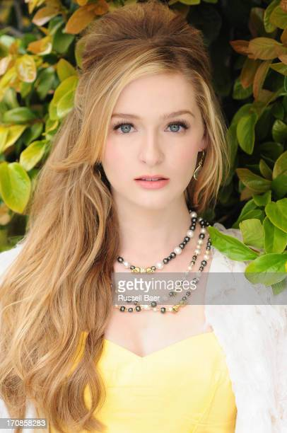 Actress Greer Grammer is photographed for Beauty Entertainment on April 14 2013 in Santa Monica California