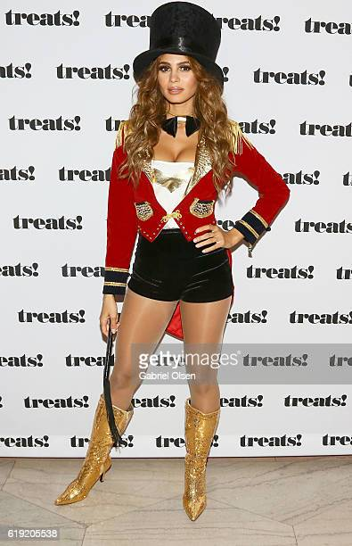 Actress Greice Santo attends Trick or treats The 6th Annual treats Magazine Halloween Party Sponsored by Absolut Elyx on October 29 2016 in Los...
