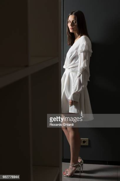 Actress Greta Berti is photographed for Self Assignment, on December, 2018 in Rome, Italy. .