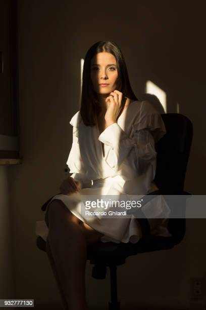 Actress Greta Berti is photographed for Self Assignment on December 2018 in Rome Italy