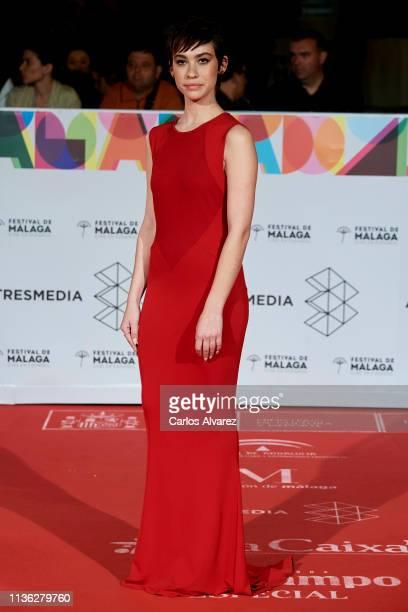Actress Greta Fernandez attends 'Esto no es Berlin' premiere during the 22th Malaga Film Festival on March 16 2019 in Malaga Spain