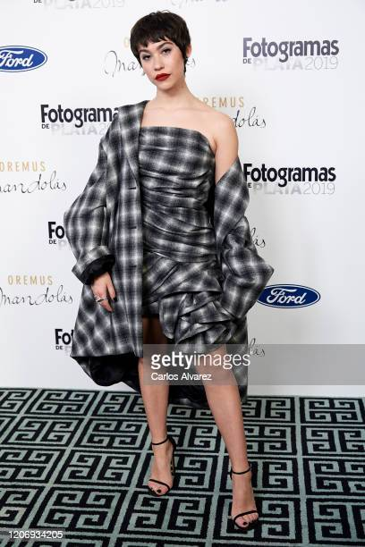 Actress Greta Fernandez attends Fotogramas awards candidates dinner 2020 at Santo Mauro Hotel on February 17 2020 in Madrid Spain