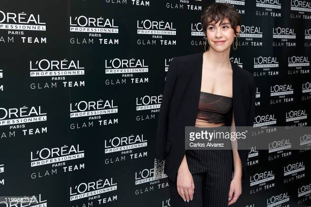 Actress Greta Fernandez attends L'Oreal Professionnel presentation at Ramses on January 16 2020 in Madrid Spain