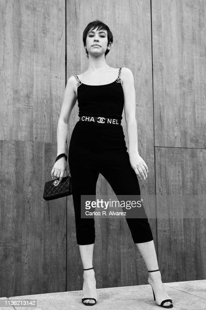 Actress Greta Fernandez poses for a portrait during the 22th Malaga Film Festival on March 16 2019 in Malaga Spain